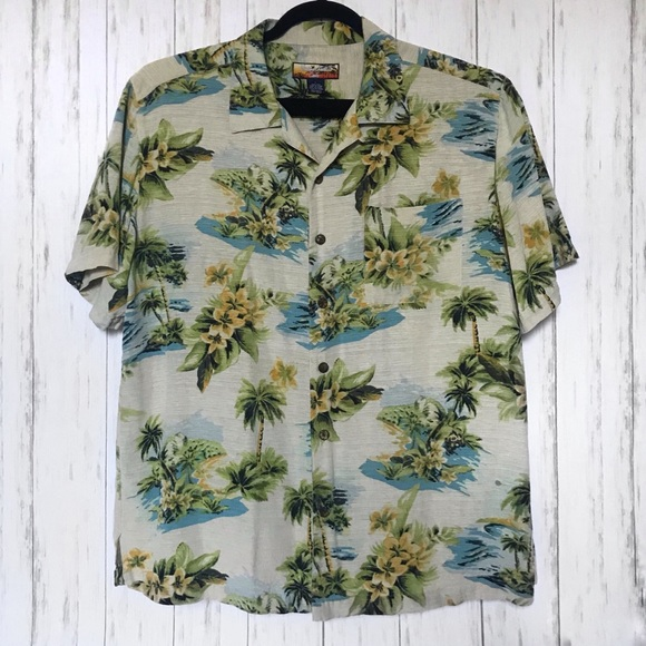 110f3b2b Havana Jack's Cafe Shirts | Havana Jacks Cafe Mens L Hawaiian Shirt ...